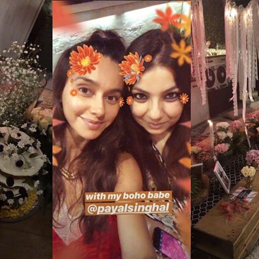 In Pics: Shibani Dandekar has a bohemian style birthday bash with girlfriends
