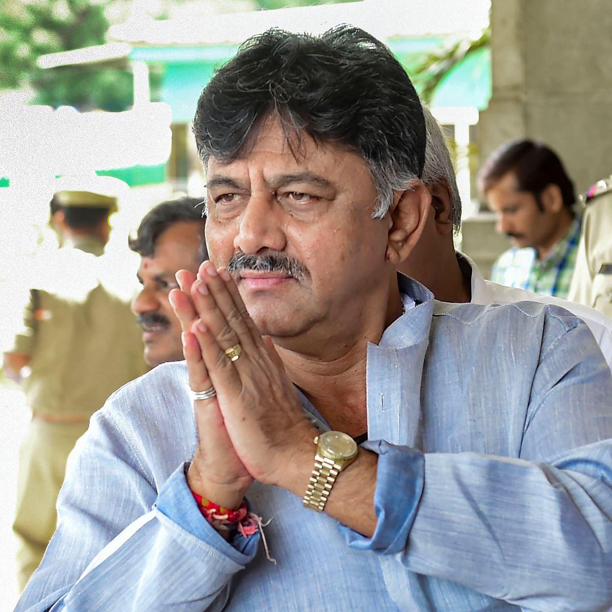 Congress trouble-shooter DK Shivakumar held by ED