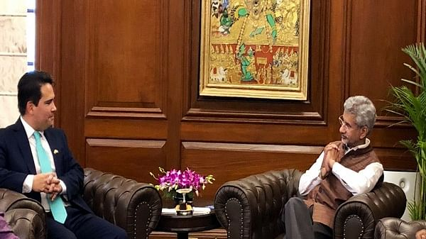 Jaishankar discusses Indo-Pacific, bilateral ties with New Zealand's Opposition leader Simon Bridges