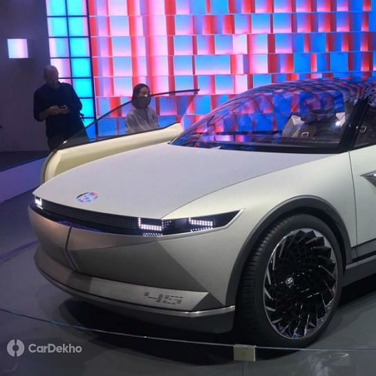 Hyundai's 45 EV concept previews self-driving electric cars of the future