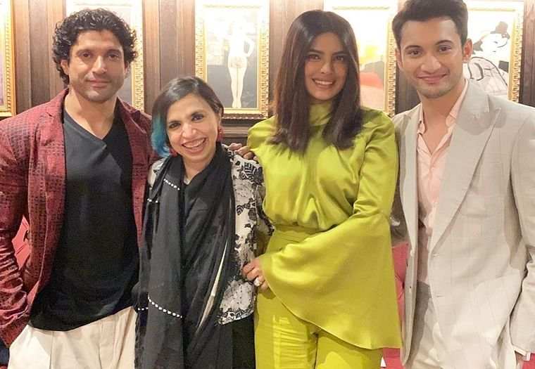 Did Zaira Wasim miss premiere of 'The Sky is Pink' at TIFF 2019?