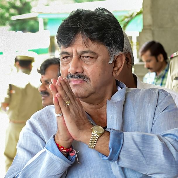 ED takes Congress leader DK Shivakumar to Tughlak Road police station
