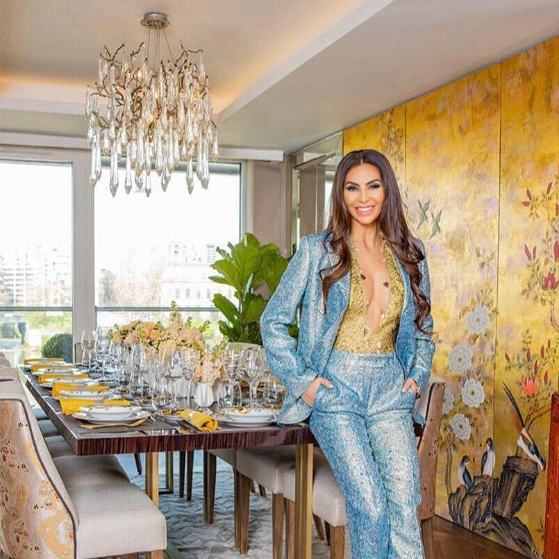 Meet Mahsa Nejati - London's very own whitening Queen