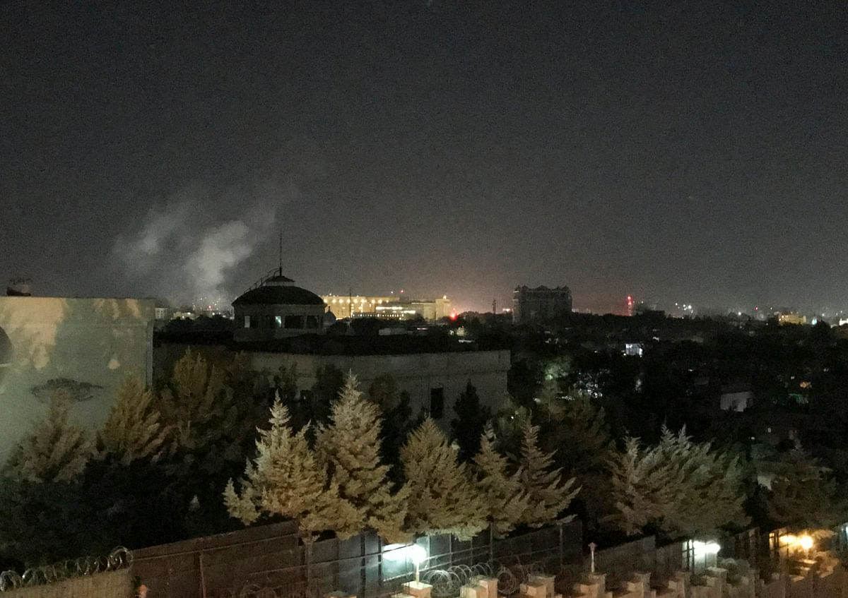 Blast at US embassy in Afghanistan on 9/11 anniversary