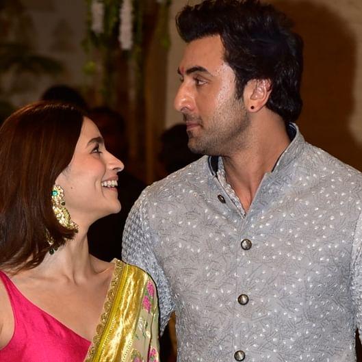 In Pics: Alia Bhatt, Ranbir Kapoor give couple goals at Ambani's Ganpati celebrations