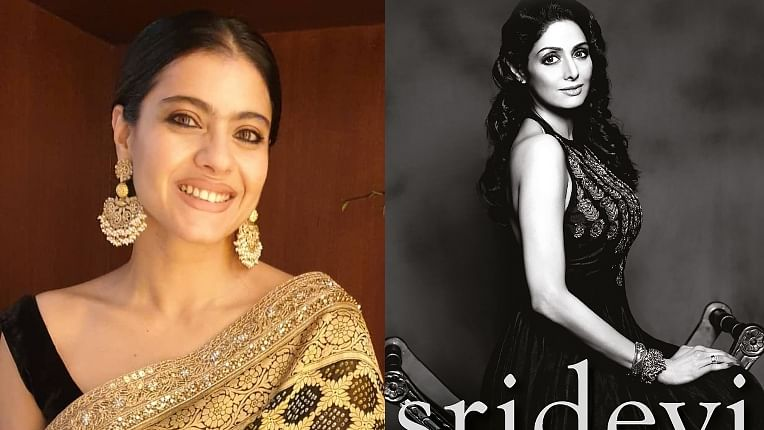 Kajol pays tribute to late actress Sridevi in a book's foreword