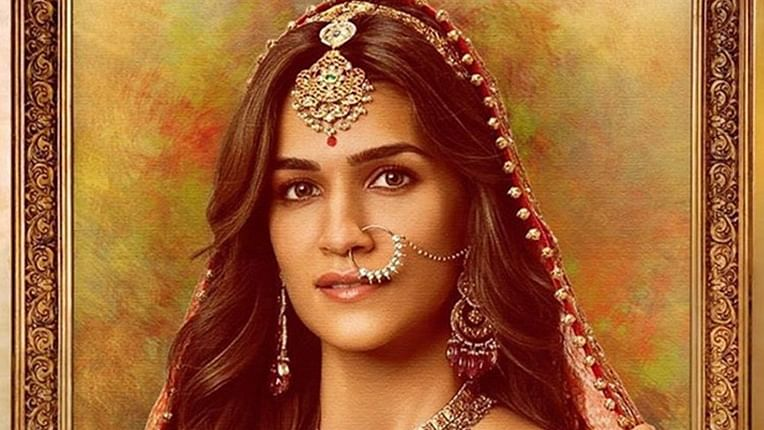 Kriti Sanon looks dreamy as Rajkumari Madhu and Kriti from London in these posters of Housefull 4!