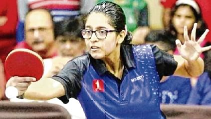 Table Tennis tournament: Aditi Sinha overcomes Manasi Chiplunkar