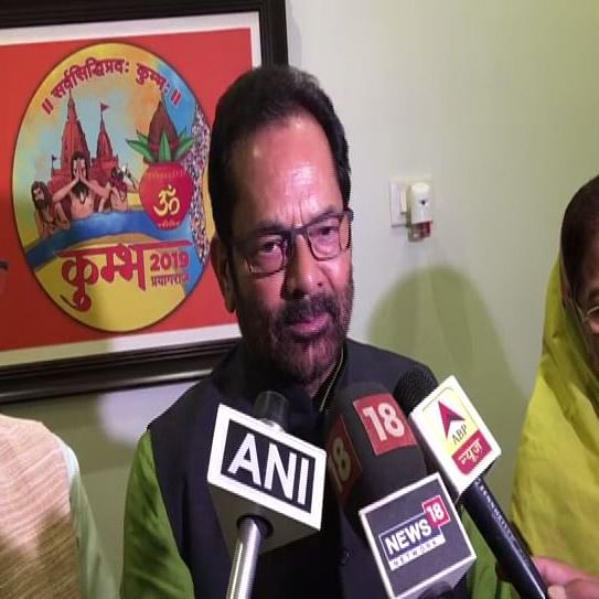Will not bother anyone with Kashmir issue: Naqvi on mediation between India and Pakistan