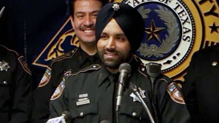 First Sikh deputy of Harris County Sheriff's fataly shot in line of duty in Texas