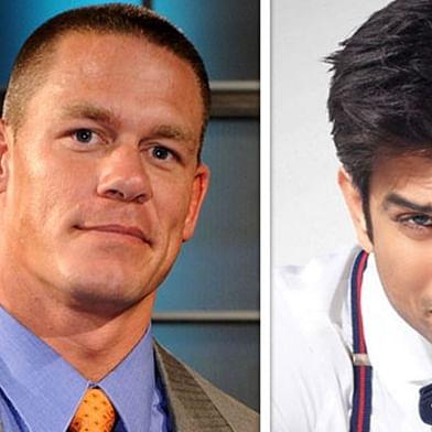 John Cena pays tribute to Sushant Singh Rajput
