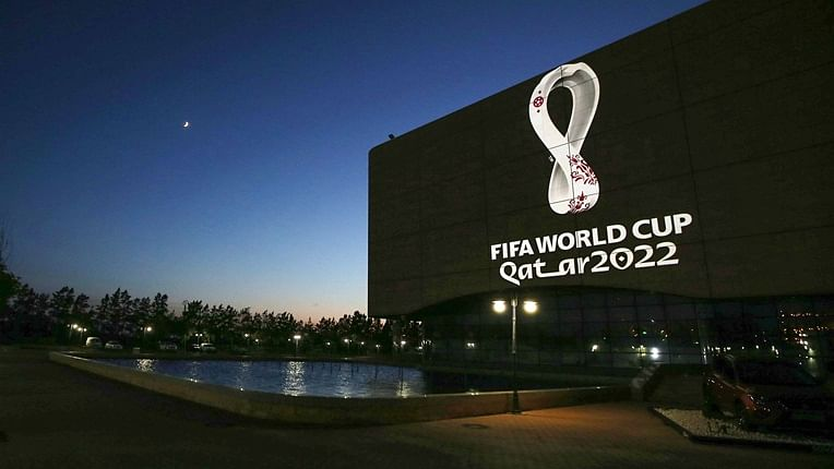 Image result for Unveiling of the FIFA World Cup 2022 trophy in Qatar