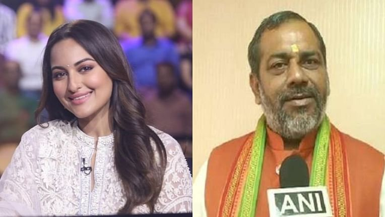 UP Minister calls Sonakshi Sinha 'Dhan Pashu' for not knowing the answer to Ramayana question