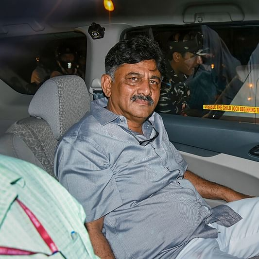 Money laundering case: DK Shivakumar daughter reaches ED office