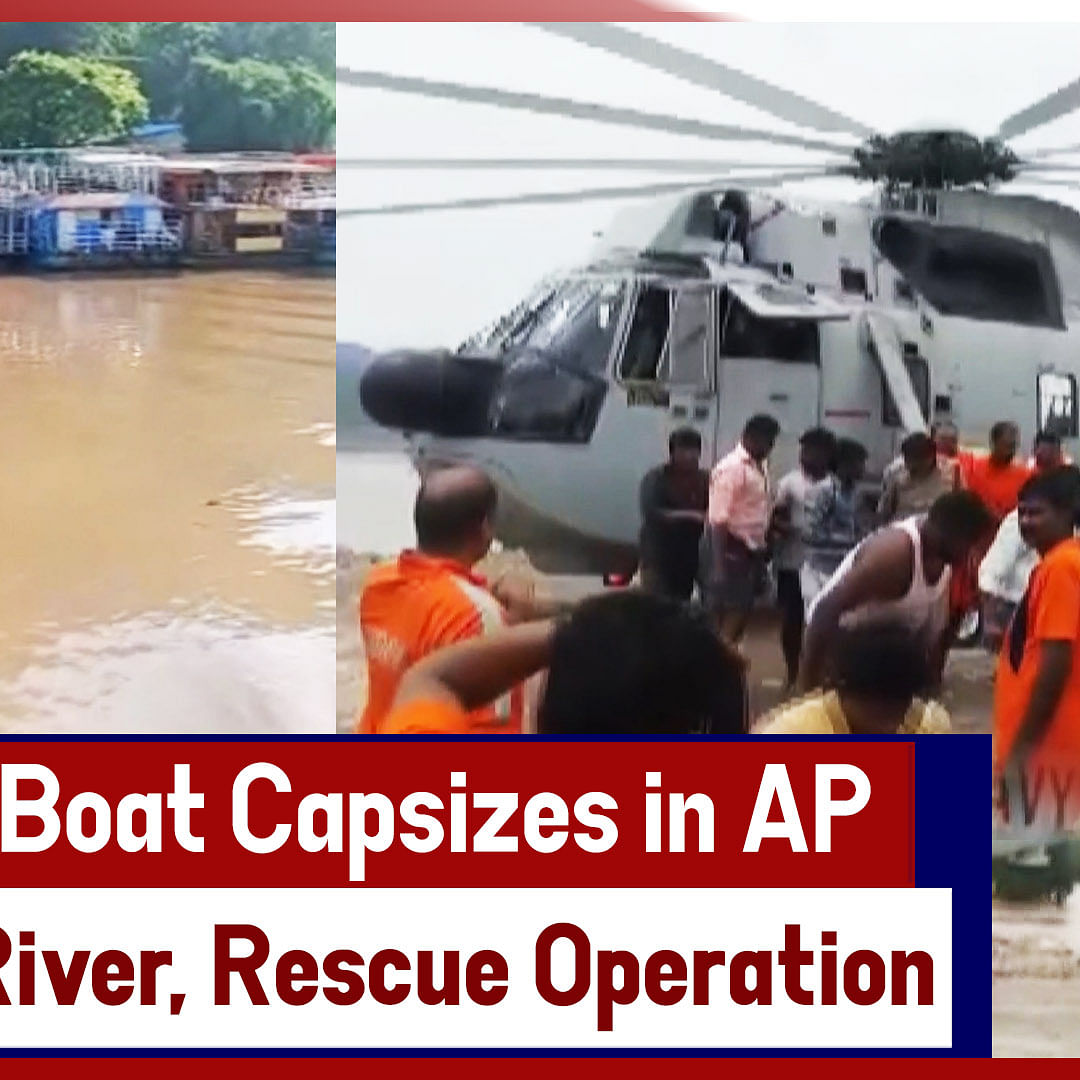 Live Updates: 13 Dead After Boat Capsizes In AP's Godavari River, Rescue Operation Underway