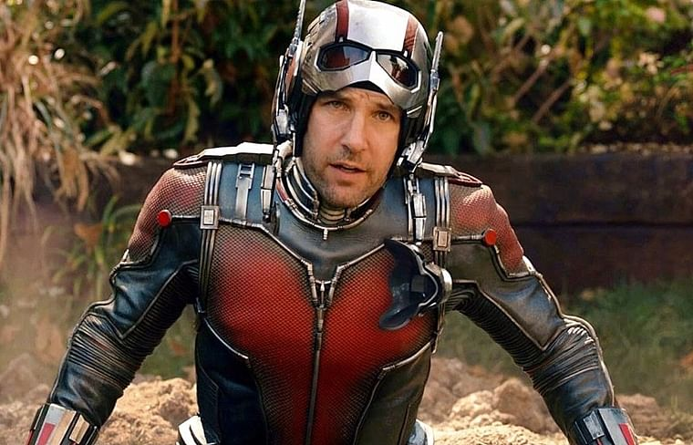 9. Paul Rudd- Ant Man: 30 Million USD