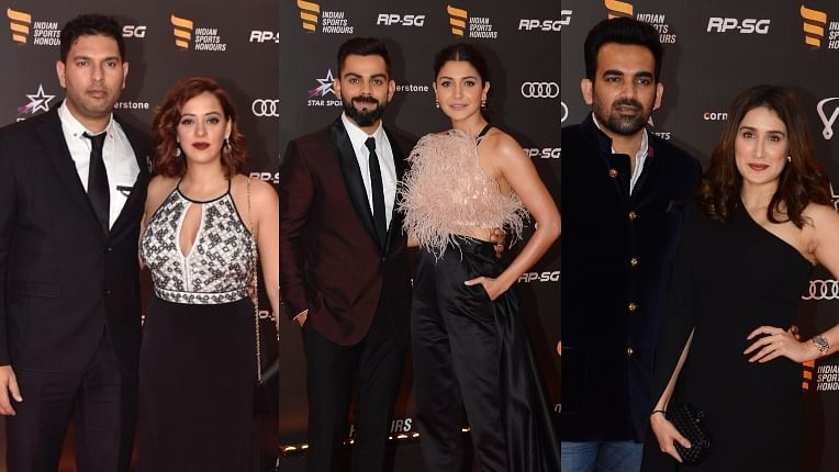Indian Sports Honours: Bollywood celebs, sports personalities shine on the red carpet