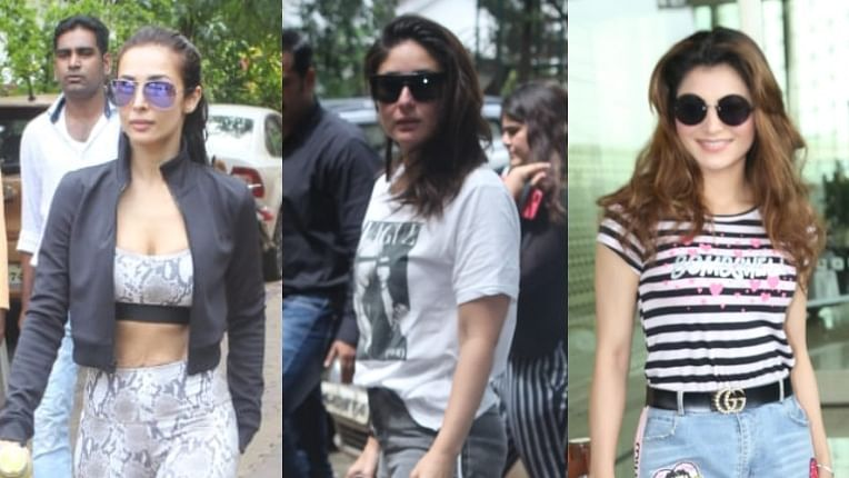 Celebrity Spotting: Kareena Kapoor, Malaika Arora, Urvashi Rautela and other stars spotted