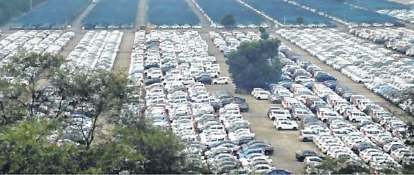 Auto major Maruti Suzuki India Limited is surely in the slow lane.