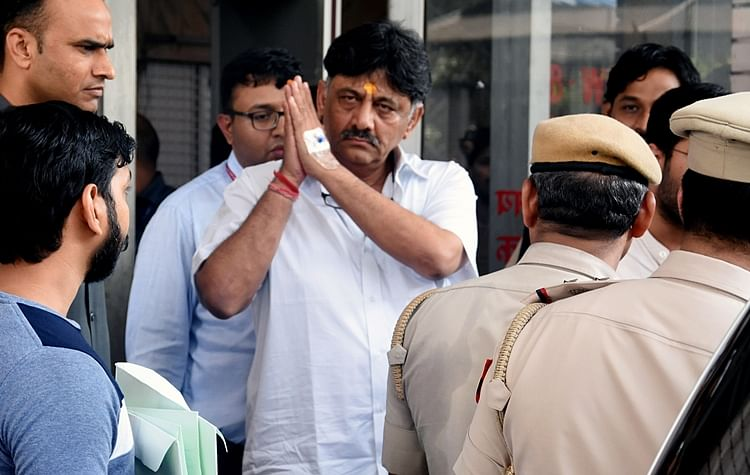 Delhi court extends Shivakumar's ED custody in money laundering case