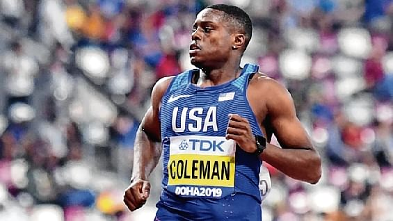World Championship: Tight-lipped Christian Colemansets pace