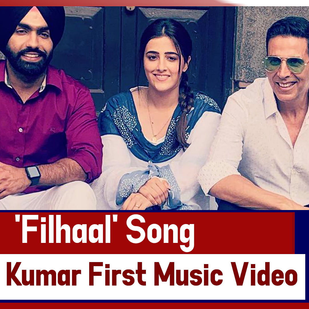 'Filhaal' Song - Akshay Kumar Shoots For His First Music Video
