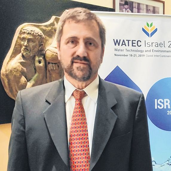 Israel Water Authority spokesperson Uri Schor: We ensure over 50% of water available is man-made