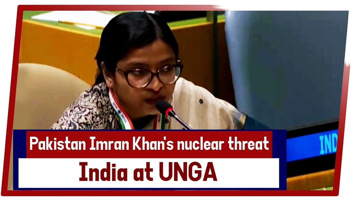 Pak Imran Khan's Nuclear Threat Qualifies As Brinksmanship Not Statesmanship, Says India At UNGA