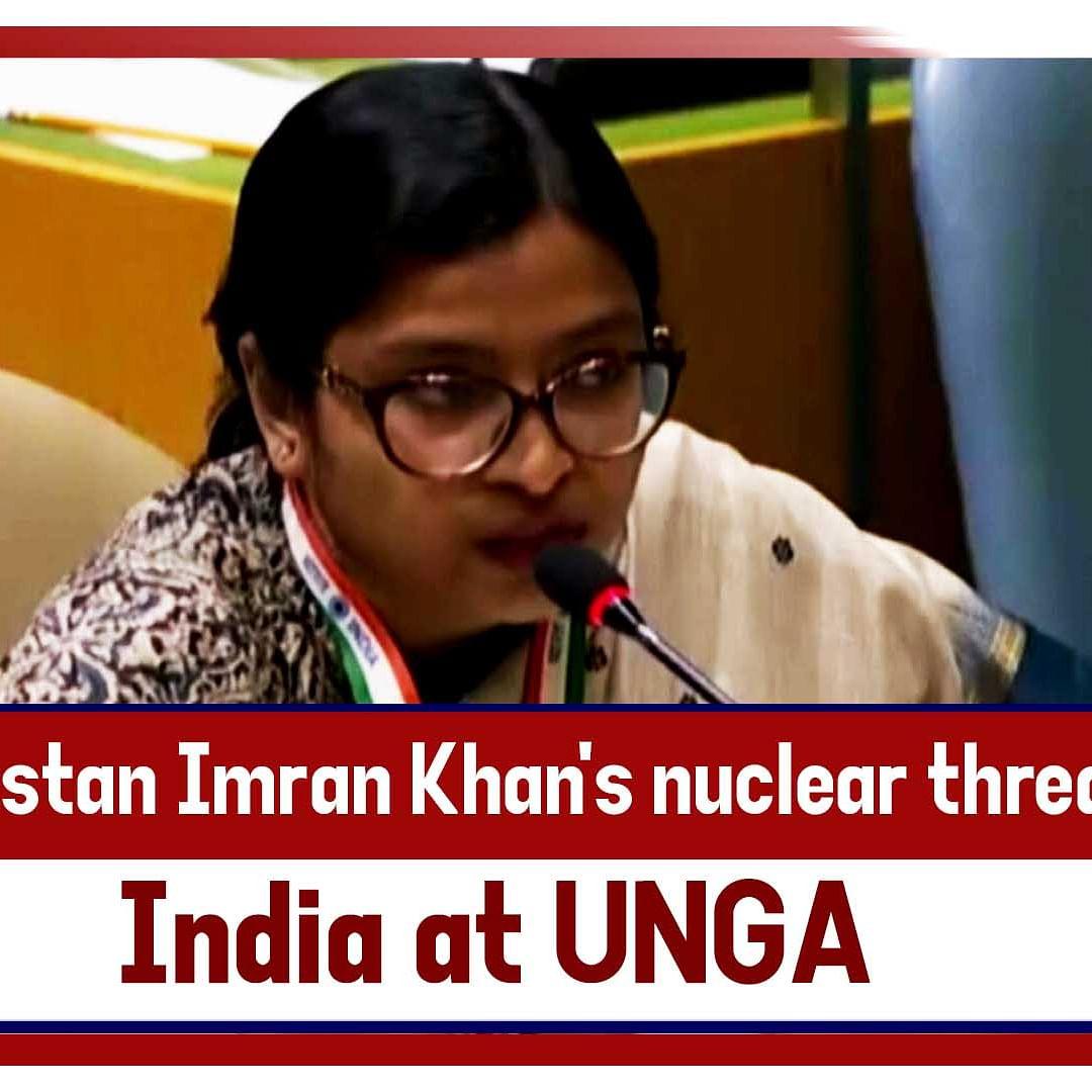 Pak Imran Khan's Nuclear Threat Qualifies As Brinksmanship Not Statesmanship, Says India At UNGA
