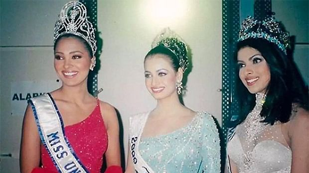 Lara Dutta shares a THEN & NOW picture with Priyanka Chopra and Dia Mirza