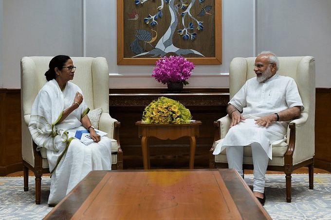 Mamata meets Narendra Modi; calls meeting 'fruitful'