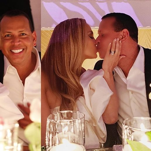 Jennifer Lopez, Alex Rodriguez have an intimate engagement bash, see pics