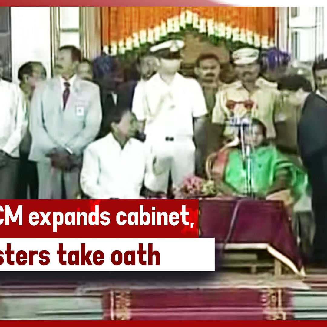 Telangana CM Expands Cabinet, 6 Ministers Take Oath