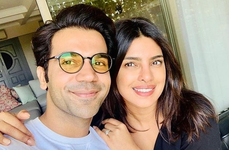 Priyanka Chopra Jonas and Rajkummar Rao start prep for 'The White Tiger'