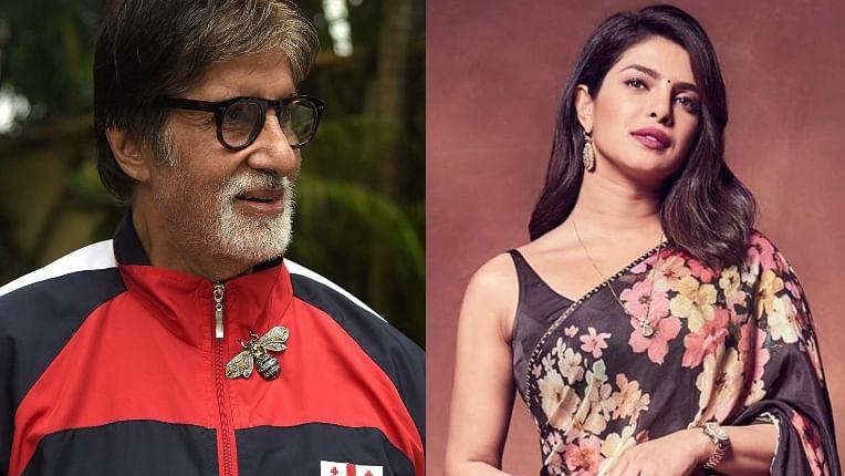 Priyanka Chopra says, 'Amitabh Bachchan's professionalism is worth compiling in a book'