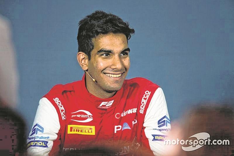 F3 race: Mumbai's Jehan Daruvala finishes third