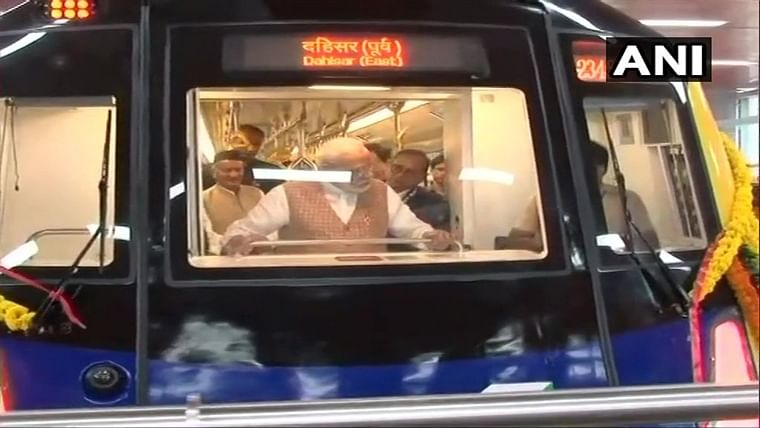 PM Narendra Modi launches indigenously-built metro coach for Mumbai