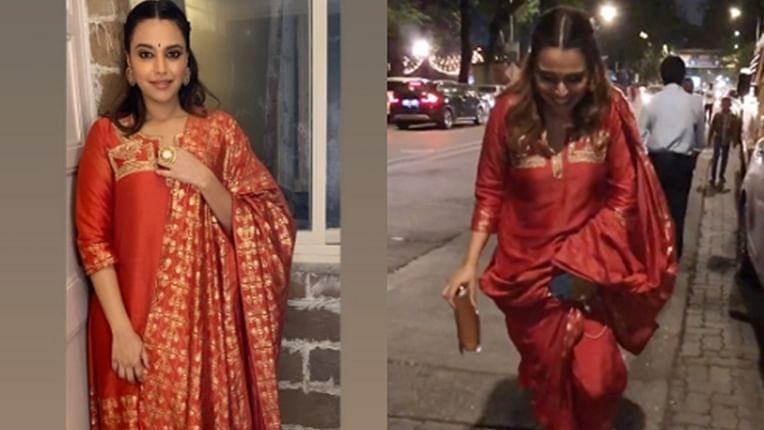 When Swara Bhasker lost her Kolhapuri chappals at 'Lalbaugcha Raja' in Mumbai