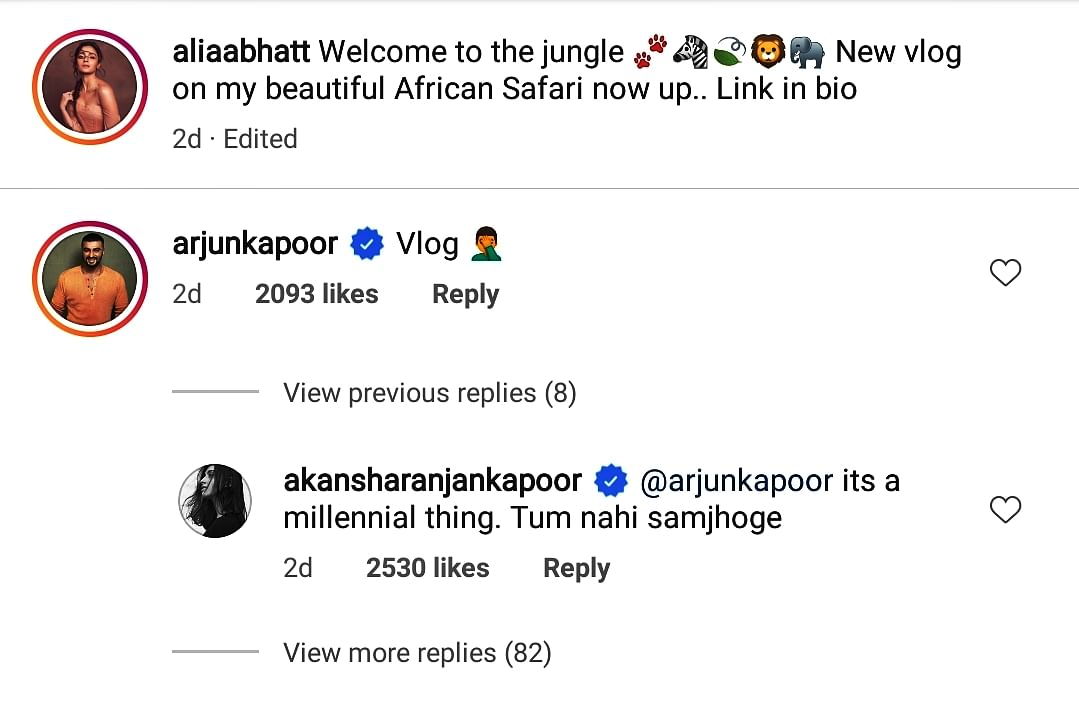 Arjun Kapoor continues to troll his co-stars on social media and this time it's Alia Bhatt
