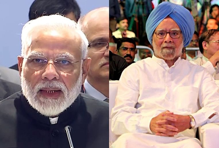 Don't ruin once-in-generation chance: Manmohan to Modi