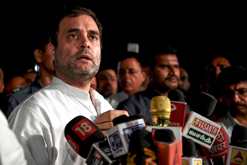 Political opportunism, says Congress leader Rahul Gandhi on action against Sharad Pawar