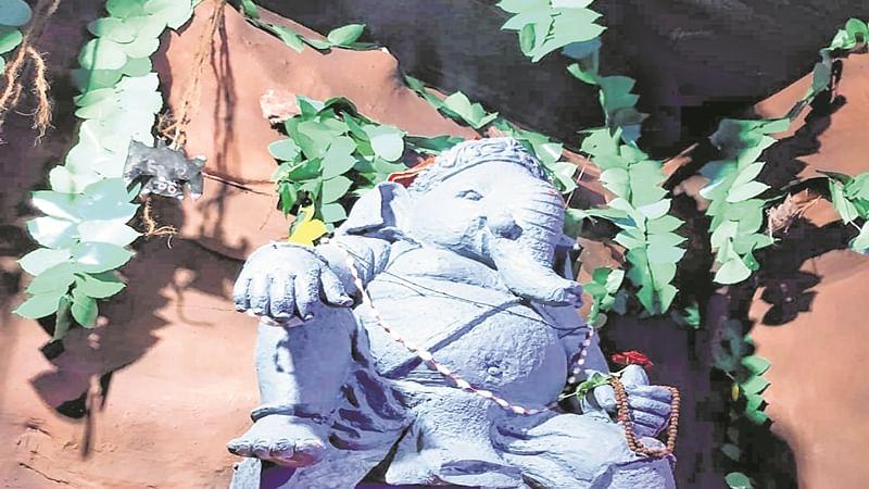 Lord Ganesh's Japanese avatar in Bhayandar!