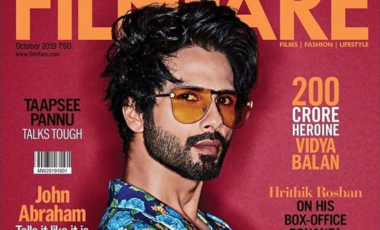 Shahid Kapoor turns bad boy in latest magazine cover