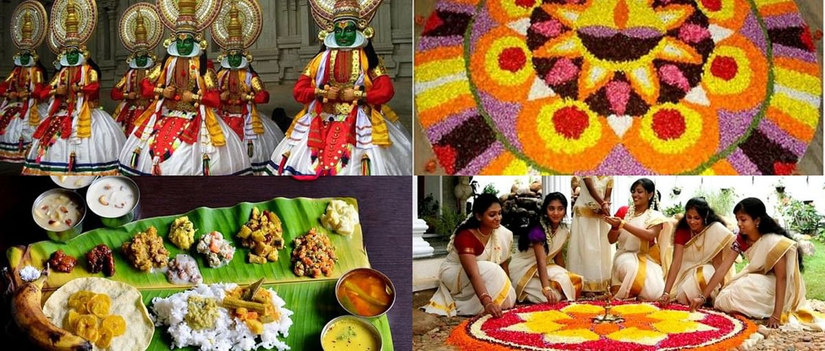 Onam traditions and celebrations.