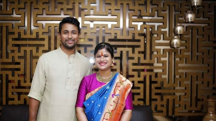 Cricketer Pragyan Ojha and wife Karabee are expecting their first child