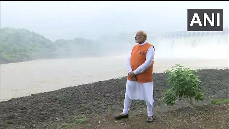 On 69th birthday PM Modi visits Gujarat, tweets Statue of Unity video