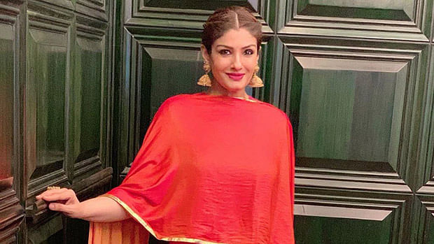 Raveena Tandon brings her grandchild home, shares pictures