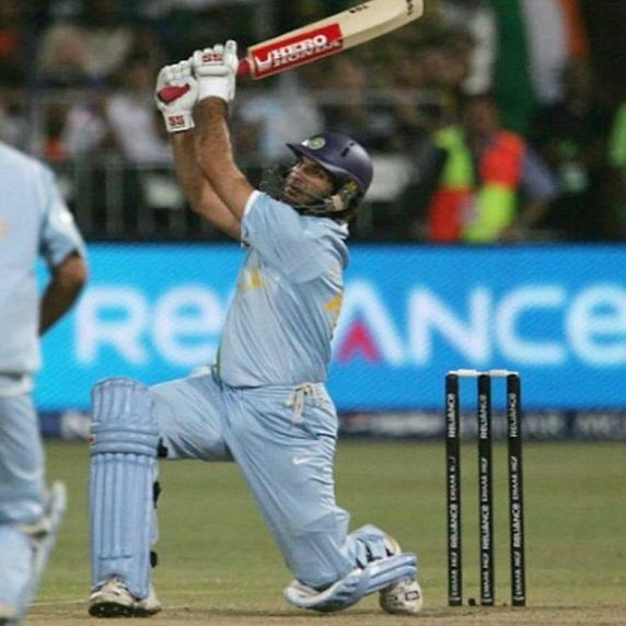 This day, 12 years ago Yuvraj smashed six sixes in an over