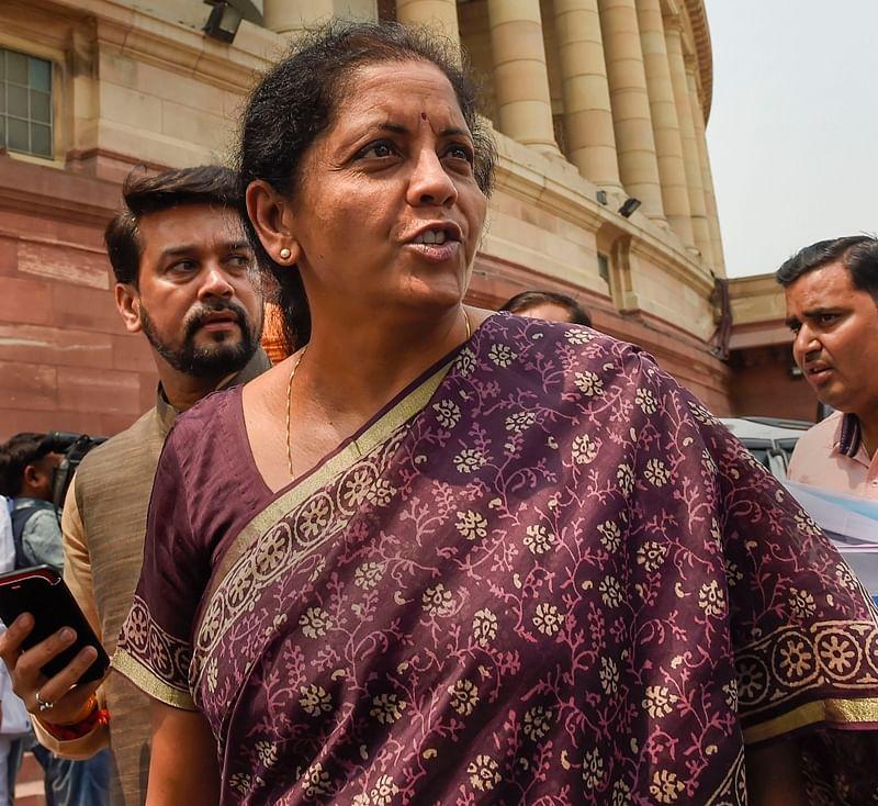 FM Nirmala Sitharaman ducks query on job losses and GDP growth rate