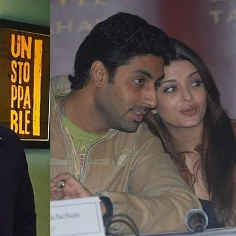 Abhishek Bachchan and Vivek Oberoi hug it out, post Aishwarya Rai Bachchan's meme controversy